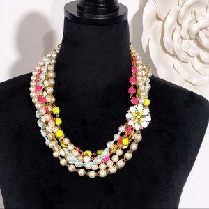 Kate Spade Bungalow Bouquet Twist Necklace